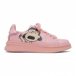 Marc Jacobs Pink Peanuts Edition The Tennis Shoe Sneakers M9002308