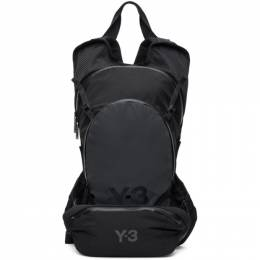 Y-3 Black and Grey Ch1 Reflective Backpack GK2103 AC-5-D1