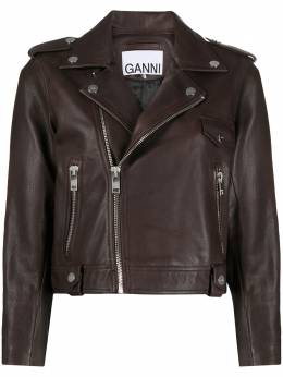 Ganni байкерская куртка F4807