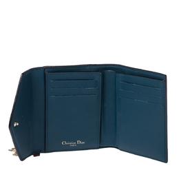 Dior Burgundy Leather Diorissimo Envelope Wallet 327168