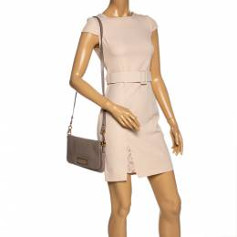 Marc By Marc Jacobs Beige Leather Too Hot to Handle Percy Shoulder Bag 323726