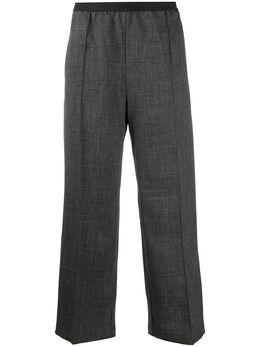 Plan C брюки свободного кроя с эластичным поясом PNCAB03BUZTP036