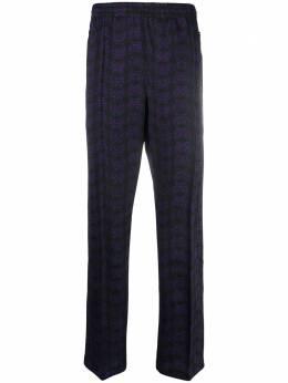 Needles спортивные брюки с принтом HM237E