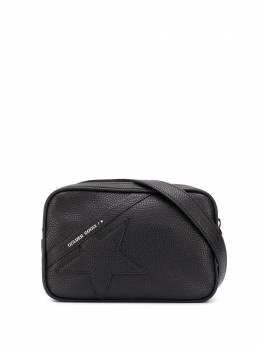 Golden Goose поясная сумка с нашивкой GWA00113A00010790100