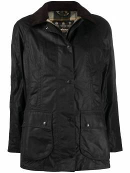 Barbour вощеная однобортная куртка LWX0667LWX