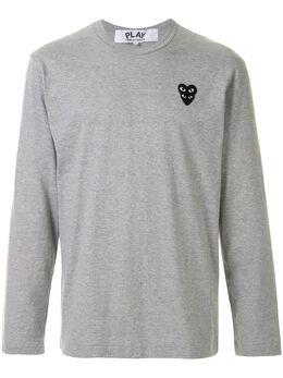 Comme Des Garcons Play футболка с нашивкой-логотипом AZT300051