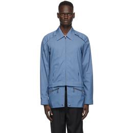Kiko Kostadinov Blue Marcel Shirt KKMFW20-500