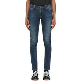Nudie Jeans Indigo Skinny Lin Jeans 113456
