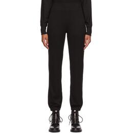 Rag&Bone Black The Knit Lounge Pants WCC20F7048PR48