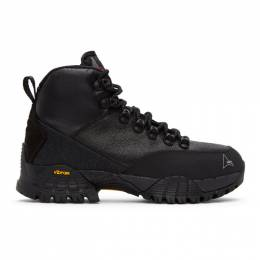 Roa Black Spitfire Andreas Lace-Up Boots VAR521