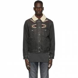 Isabel Marant Black Denim Jared Jacket VE0752-20A020H