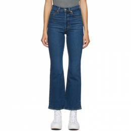 Levi's Blue Ribcage Bootcut Jeans 36934-0001