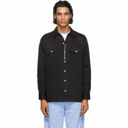 Noon Goons Black Johnny Workwear Shirt NGFW20-042