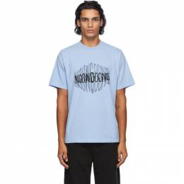 Noon Goons Blue Radiowave T-Shirt NGFW20-073