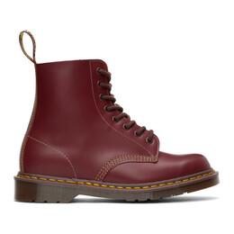 Dr. Martens Burgundy Vintage 1460 Lace-Up Boots 12308601