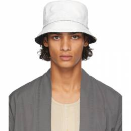 Visvim White Dome Flap Hat 0120203003013