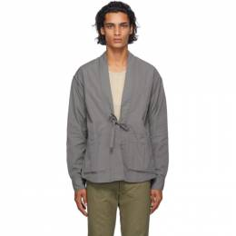 Visvim Grey Lhamo Shirt 0120205011015
