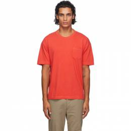 Visvim Three-Pack Multicolor Sublig Pocket T-Shirts 0120205009005
