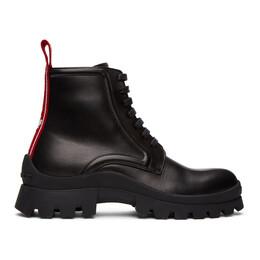 Dsquared2 Black Tank Tape Boots ABM0059 - 01501155