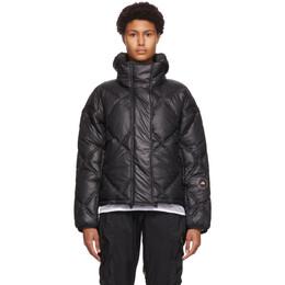 Adidas by Stella McCartney Black Short Padded Jacket FU1157