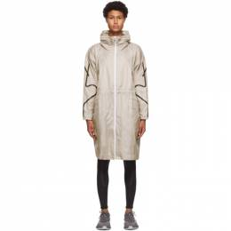 Adidas by Stella McCartney Taupe Packable Lightweight Parka FU1165