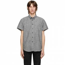 Naked And Famous Denim Grey Easy Short Sleeve Shirt 120905511