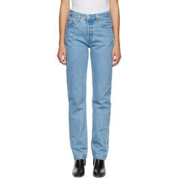 Levi's Blue 501 Original Fit Jeans 12501-0327