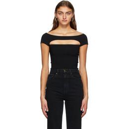Khaite Black Talie Bodysuit 8433400