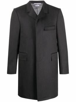 Thom Browne саржевое пальто MOC005A00155