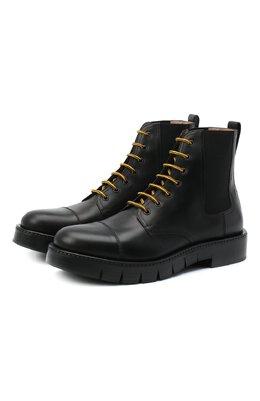Кожаные ботинки Salvatore Ferragamo Z-07351533E