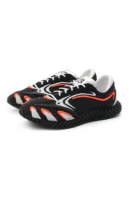 Текстильные кроссовки Runner 4D Y-3 FU9208/W