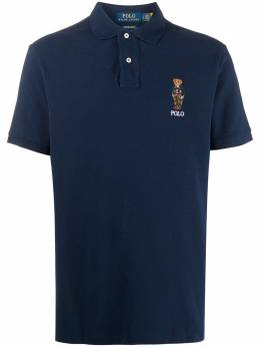 Polo Ralph Lauren рубашка поло Preppy Bear с вышивкой 710815187