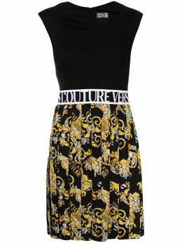 Versace Jeans Couture платье с принтом Baroque и логотипом D2HZA442S0835
