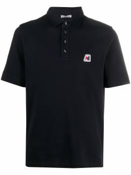 Moncler рубашка поло с нашивкой-логотипом F20918A7180084556