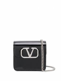 Valentino Garavani сумка через плечо с логотипом VLogo UW2P0S96ZEE