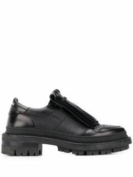 Dsquared2 туфли на шнуровке со съемной бахромой LUM005514410001