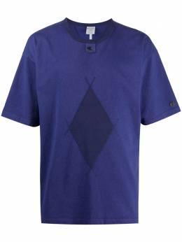Craig Green футболка с геометричным принтом и круглым вырезом 215618