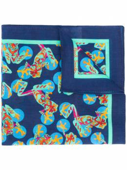Paul Smith frog print square scarf M1A391FES05