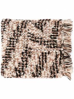 Missoni шарф крупной вязки MDS00313BK00NI