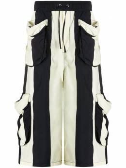 Sunnei striped cargo shorts MT06BCR05