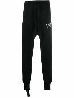 Unravel Project спортивные брюки с низким шаговым швом UMCH002F20FLE001