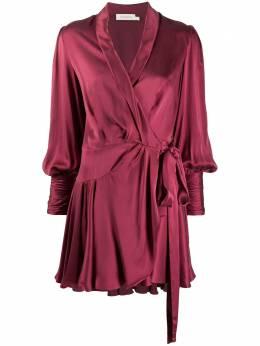 Zimmermann платье с запахом и завязками 8067DRLAD