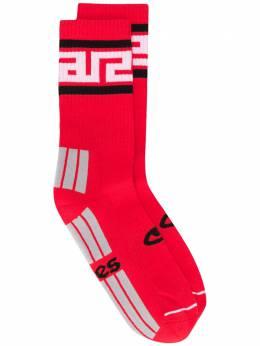 Aries носки в рубчик с логотипом FRAR00046