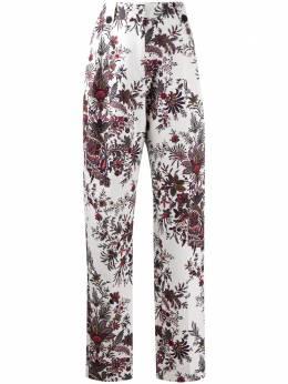 Paco Rabanne брюки с завышенной талией и принтом пейсли 20ACPA095CO0337