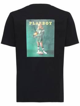 Футболка Из Хлопка Playboy Monthly September Soulland 72IXF5003-QkxBQ0s1