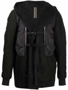 Rick Owens DRKSHDW куртка с капюшоном DU20F1971TWND09