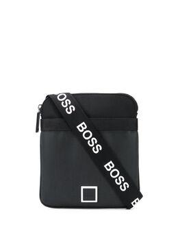 Boss by Hugo Boss logo-strap messenger bag 50437484