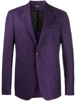 Z Zegna однобортный пиджак 1VSFG0830714