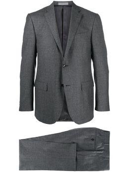 Corneliani костюм узкого кроя с однобортным пиджаком 8672220817267