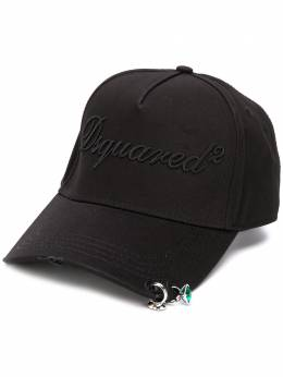 Dsquared2 кепка с вышитым логотипом BCW001405C03216